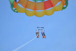 duck parasailing